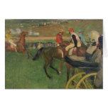 The Race Course - Amateur Jockeys Card