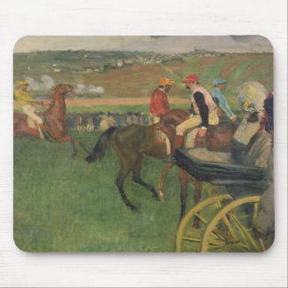 The Race Course - Amateur Jockeys Mouse Pad