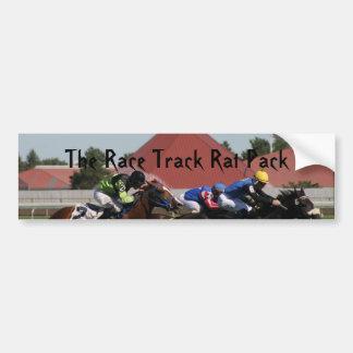 The Race Track Rat Pack Bumper Stick Bumper Sticker