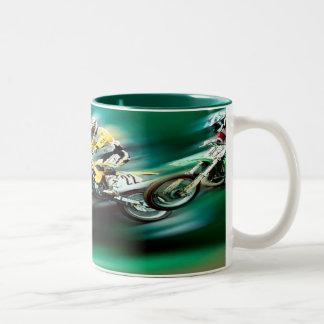 The Race Two-Tone Coffee Mug