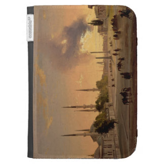 The Racecourse at Constantinople (oil on canvas) Kindle Folio Case