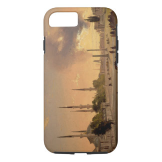 The Racecourse at Constantinople (oil on canvas) iPhone 7 Case