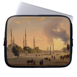 The Racecourse at Constantinople (oil on canvas) Laptop Sleeve