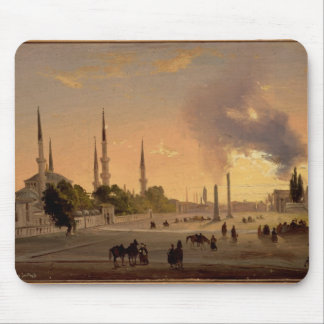 The Racecourse at Constantinople (oil on canvas) Mouse Pad