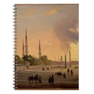 The Racecourse at Constantinople (oil on canvas) Notebook