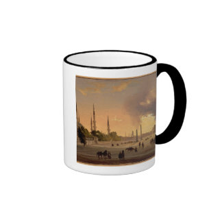 The Racecourse at Constantinople (oil on canvas) Ringer Mug