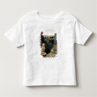 The Races at Auteuil, part of a triptych (oil on c Toddler T-shirt