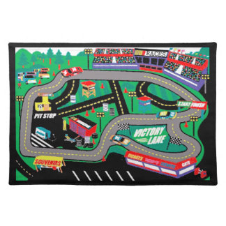 The Races Placemat