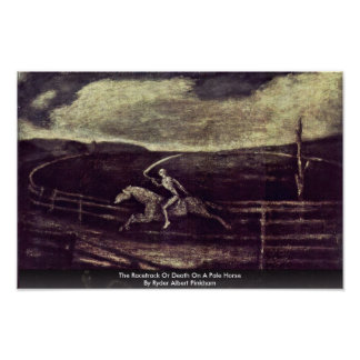 The Racetrack Or Death On A Pale Horse Poster