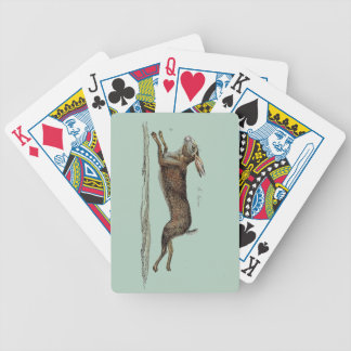 The Racing Hare at Easter Bicycle Playing Cards