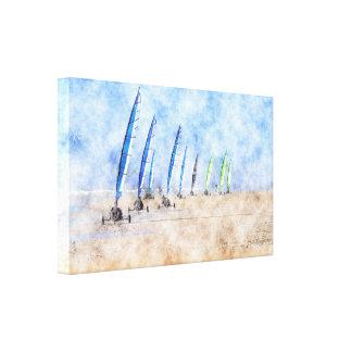 The Racing Line Canvas Print