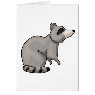 The Racoon Card