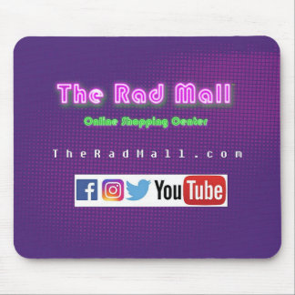 """The Rad Mall """"Website"""" Mouse Pad"""
