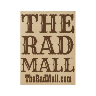 """The Rad Mall """"Western"""" Logo Poster"""
