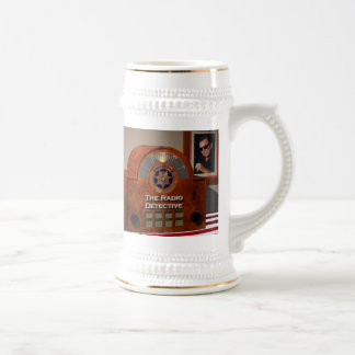 The Radio Detective Collectible Beer Stein Mugs
