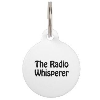 the radio whisperer pet tags