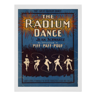 The Radium Dance Poster