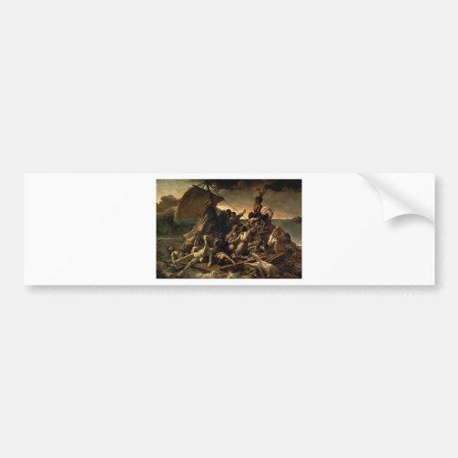 The raft of the jellyfish - Géricault Bumper Stickers