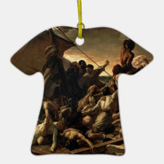 The raft of the jellyfish - Géricault Double-Sided T-Shirt Ceramic Christmas Ornament