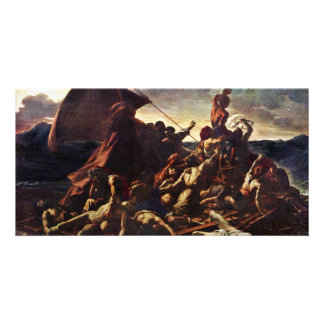 The Raft Of The Medusa, By Géricault Jean Louis Th Photo Card Template