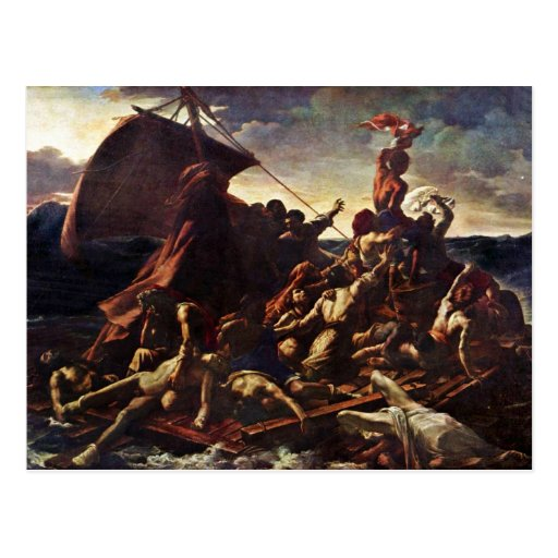 The Raft Of The Medusa, By Géricault Jean Louis Th Post Card