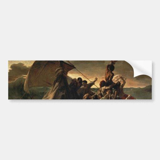The Raft of the Medusa - Théodore Géricault Bumper Stickers