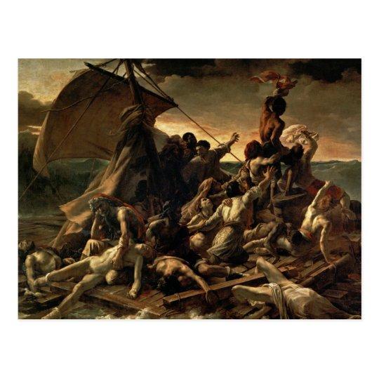 The Raft of the Medusa - Théodore Géricault Postcard ...