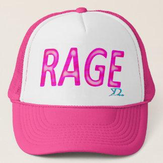 The rage girl trucker hat