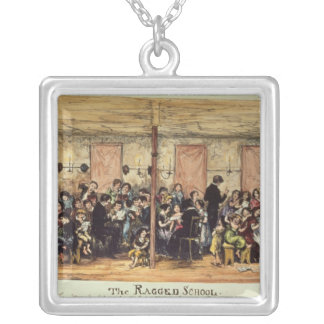 The Ragged School, West Street , Smithfield Silver Plated Necklace