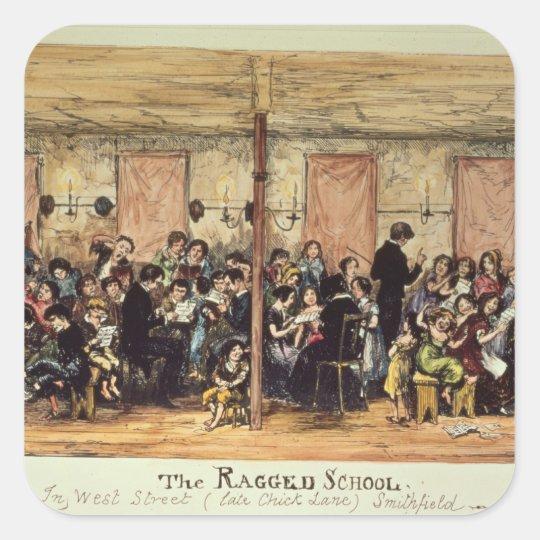 The Ragged School, West Street , Smithfield Square Sticker