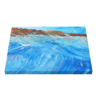The Raging Sea Canvas Print