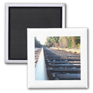 The Rail 2 Inch Square Magnet