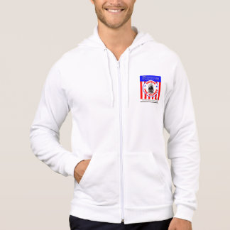 The Railroad Army - Back up the fighting Forces ! Hoodie