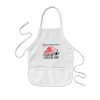 The Railroad Army-Back up the Fighting Forces Kids' Apron