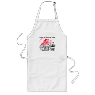The Railroad Army - Back up the fighting Forces ! Long Apron