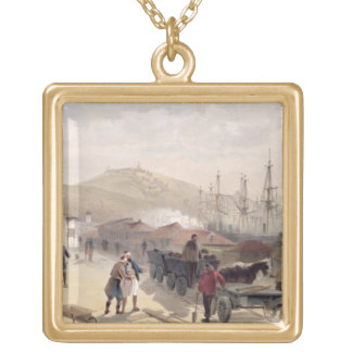 The Railway at Balaklava, plate from 'The Seat of Gold Plated Necklace