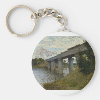 The Railway Bridge at Argenteuil (1874) [2] Keychain