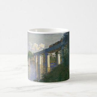 The Railway Bridge at Argenteuil (1874) Coffee Mug