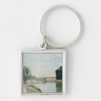 The Railway Bridge, Pontoise Key Chain