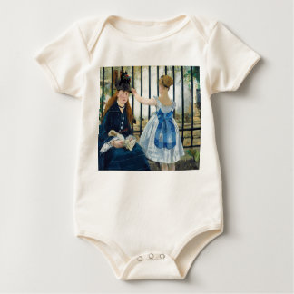 The Railway by Edouard Manet 1873 Baby Bodysuit