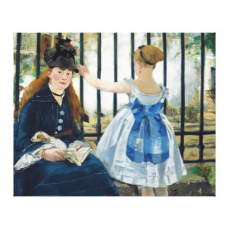 The Railway by Edouard Manet 1873 Canvas Print