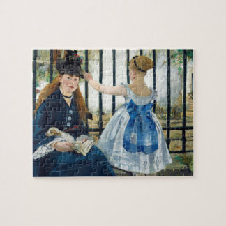 The Railway by Edouard Manet 1873 Jigsaw Puzzle