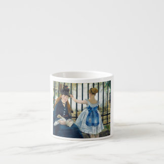 The Railway by Edouard Manet 1873 Espresso Cup