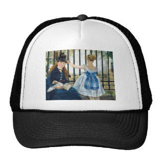 The Railway by Edouard Manet 1873 Trucker Hat