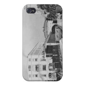 The railway station of the train Berlin-Potsdam iPhone 4 Covers