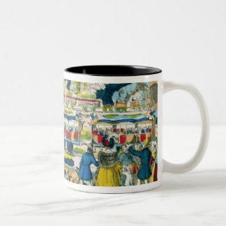 The Railway Two-Tone Coffee Mug