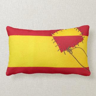 The rain in Spain... by @QUIXOTEdotTV Throw Pillows