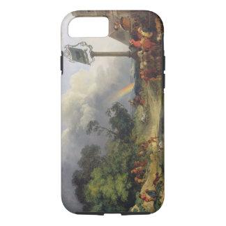 The Rainbow, 1784 (oil on canvas) iPhone 7 Case
