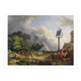 The Rainbow, 1784 (oil on canvas) Postcard