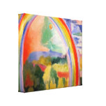 The Rainbow by Robert Delaunay Canvas Print